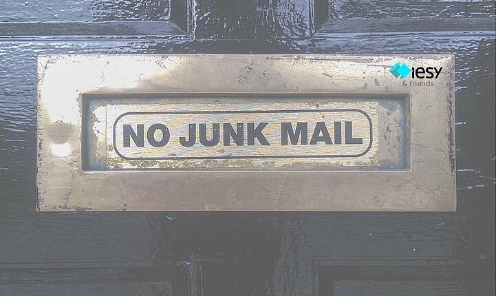 Newsletter, No junk mail
